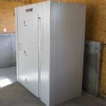 Hide-Away Storm Shelter installed