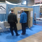 Hide-Away Storm Shelter at the Home Show, Kansas City