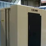 Hide-Away Storm Shelter at the KC Home Show
