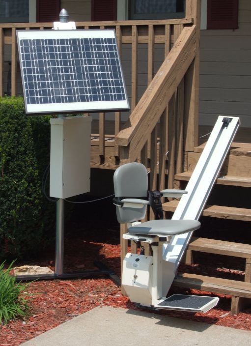 Solar OUtdoor Stairlift